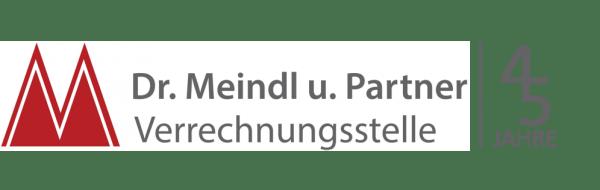 Logo 45 Jahre Verrechnungsstelle Dr. Meindl u. Partner