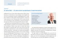 Bild Chirurgen-Magazin 20 Jahre BNC Dr. Meindl u. Partner Verrechnungsstelle