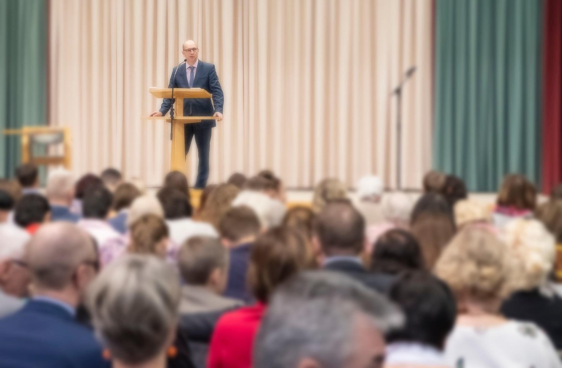 Eröffnungsrede zum Ärztetag von Präsident Klaus Reinhardt