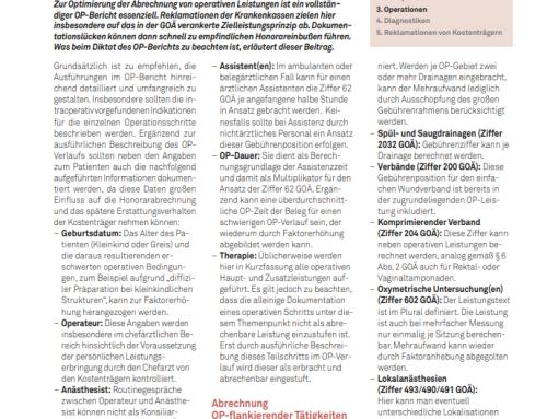 UroForum 2/19: Urologische Operationen optimal abrechnen