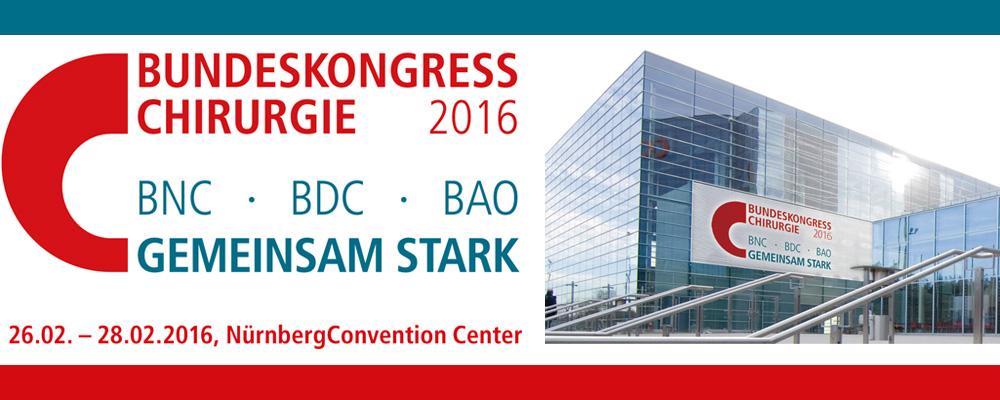 Logo Bundeskongress Chirurgie 2016