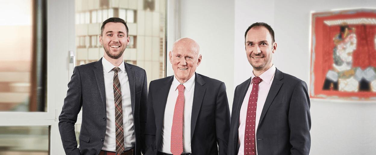 Lukas Meindl, Dr. Rudolph Meindl, Joachim Zieher